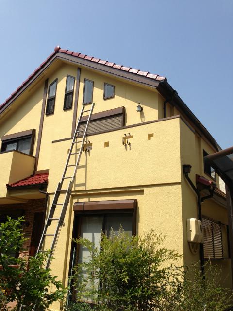外壁塗装 完了